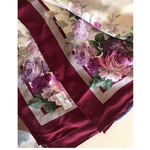 YSL silk monogram scarf in like new condition